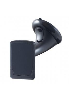 """Автомобильный держатель Perfeo-510 для смартфона/навигатора/ до 6""""/ на стекло/ магнитный/ черный"""