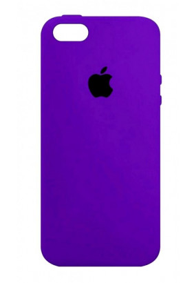 Чехол Apple Silicone Case для iPhone 5/5s (Ультрафиолет)