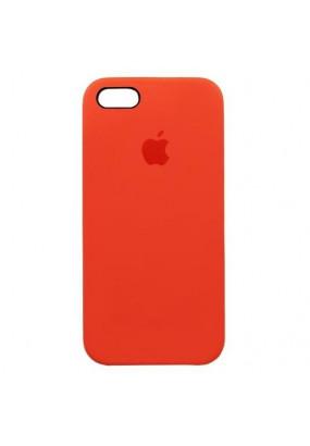 Чехол Apple Silicone Case для iPhone 5/5s orange