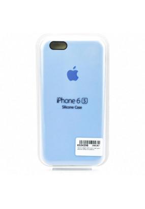 Чехол Apple Silicone Case для iPhone 6/6s (Голубой)