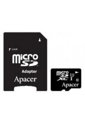 Карта памяти Apacer microSDXC 128GB UHS-I Class 10 + adapter (AP128GMCSX10U1-R)