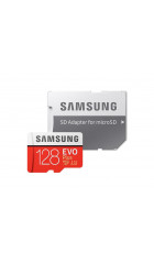 Карта памяти Samsung microSD 128GB EVO PLUS 2 U3 w/adapter (MB-MC128GA/RU), (MB-MC128GA/RU)