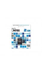 Карта памяти Mirex microSD 2GB (13612-MCROSD02)