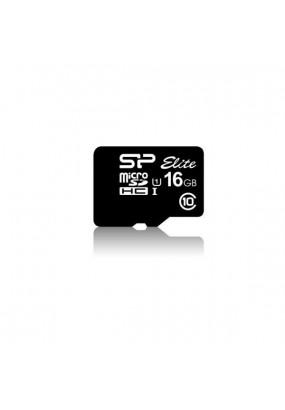 Карта памяти Silicon Power microSDHC 16Gb Class10 w/o adapter (SP016GBSTHBU1V10)