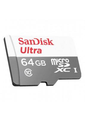Карта памяти SanDisk microSDHC 64Gb Class 10 Ultra 80MB/s