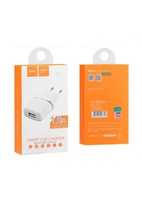 СЗУ HOCO USB C11 series 1A White