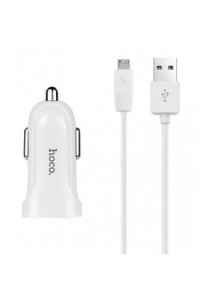 АЗУ HOCO Z2 single-port (micro) white