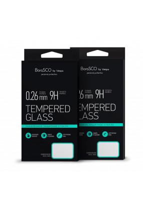 Защитное стекло BoraSCO Full Cover+Full Glue для Xiaomi Redmi 6 Pro Белая рамка