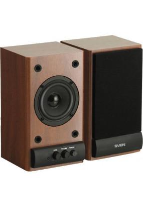SVEN SPS-607 BLACK Мультимедийная акустическая система Выходная мощность (RMS)  2 x 3 Вт Частотный диапазон 80 – 18 000 Гц Цвет Чёрный