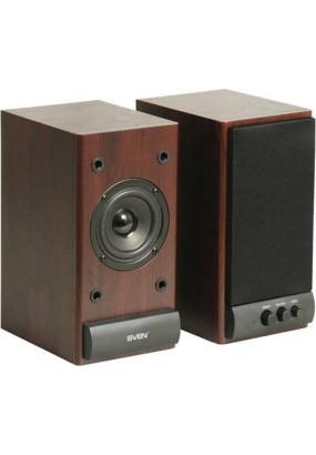 SVEN SPS-609 CHEERY Мультимедийная акустическая система Выходная мощность (RMS)  2 x 5 Вт Частотный диапазон 70 – 18 000 Гц Цвет Вишня