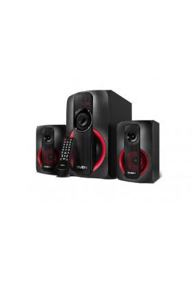 SVEN MS-304, Компьютерная акустика, выходная мощность 40 Вт, диапазон частот 40 - 20000 Гц, Bluetooth, пульт ДУ, поддержка карт памяти SD