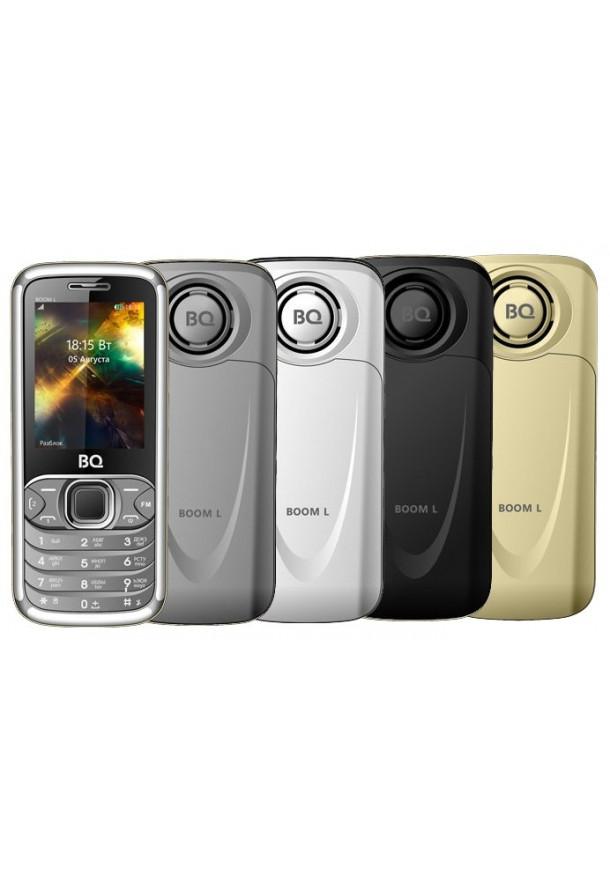 Мобильный телефон BQ BQM-2427 BOOM L (silver)