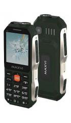 """Мобильный телефон Maxvi T1 Green, защита от пыли и грязи, 1,77"""" (160х128), 1000 мАч, 0,3 Мп, 2 сим"""