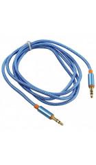 Аудио-кабель Defender (87512) 1.2м, синий