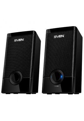 Колонки Sven 318 2.0 черный 5Вт
