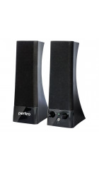 """Perfeo колонки """"Tower"""" 2.0, мощность 2х3 Вт (RMS), чёрн, USB  (PF-532)"""