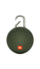 Портативная акустическая система JBL Clip 3, зеленая