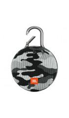 Портативная акустическая система JBL Clip 3, камуфляж белый