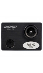 Экшн-камера Digma DiCam 170 черный