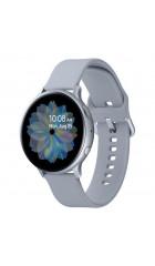 "Умные часы Samsung Galaxy Watch Active 2 40mm Silver, 1.2"" (360х360), NFC, IP68, Tizen, 768Mb/4Gb,  силик ремешок, 340 мAч (SM-R830NZSASER)"