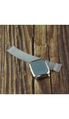 Смарт часы No brand CV06 ( mirror screen, metal bobdy) серебро