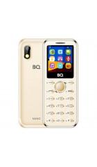 "Мобильный телефон BQ BQM-1411 Nano золотистый, в комплекте нет ЗУ, 1,44"" (128х128), 2 sim, microSD до 16Гб, 460 mAh"