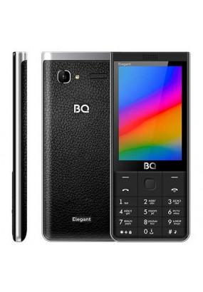 """Мобильный телефон BQ BQM-3595 Elegant черный, 3,47"""" TFT (480х320), 2 sim, 0,08 Мп, 1500 mAh"""