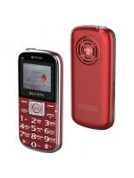 "Мобильный телефон Maxvi B8 Red, бабушкофон, 1,77"" (160х128), аккум 1200 мАч, 2 Sim"