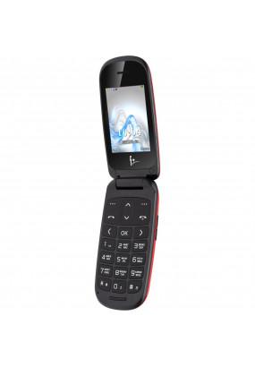 "Мобильный телефон F+ Flip1 Red, ""раскладушка"", 2,4"" (320х240), 0,3Мп, 750мАч"