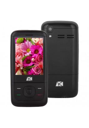 """Мобильный телефон ARK V3 Benefit черный (1080627) 2Sim/2.4""""/( 320x240)/ 0.08Mpix/ GSM900/1800 /MP3/ FM /microSD max32Gb"""