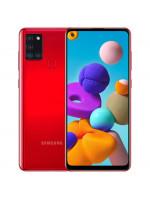 """Смартфон Samsung SM-A217F Galaxy A21s 64Gb Red, 6.5"""" (1600х720) TFT, 4/64Gb, NFC, 8х2,0ГГц, A10.0, 48+8+2+2Mp/13Mp, 5000мАч (SM-A217FZROSER)"""