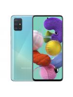 """Смартфон Samsung SM-A515F Galaxy A51 2020 64Gb Blue, 6.5"""" (2400х1080) S_AMOLED, 4/64Gb, 8х2,3ГГц, A10.0, 48+12+5+5Mp/32Mp, 4000мАч (SM-A515FZBMSER)"""