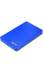 "Корпус для HDD/SSD 2.5"" SATA3 USB2.0 Gembird EE2-U2S-40P-B, синий, пластик"