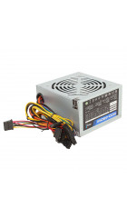 Блок питания Aerocool 450W Retail ECO-450W ATX v2.3 Haswell, fan 12cm, 400mm cable, power cord, 20+4P, 12V 4P, 1x PCI-E 6P, 2x SATA, 2x PATA, 1x FDD