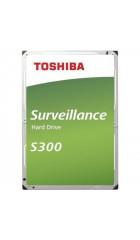"HHD Toshiba Sata3 4Tb HDWT140UZSVA Surveillance S300 (5400rpm) 128Mb 3.5"""