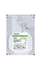 "HHD Toshiba HDWT380UZSVA Sata3 8Tb Surveillance S300 (7200rpm) 256Mb 3.5"""