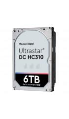 """HHD Western Digital 0B36047 Original SAS 3.0 6Tb HUS726T6TAL5204 Ultrastar DC HC310 (7200rpm) 256Mb 3.5"""""""