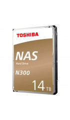 "HHD Toshiba HDWG21EUZSVA Sata3 14Tb NAS N300 (7200rpm) 256Mb 3.5"" Bulk"