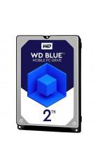 """HDD 2.5"""" 2.0TB 5400rpm SATA3 128MB WD Blue (WD20SPZX) 9.5mm"""