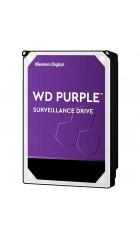 "HDD 3.5"" 8.0TB IntelliPower SATA3 256MB WD Purple (WD82PURZ) 24/7, для систем наблюдения (до 64 камер), AllFrame 4K уменьшает потери кадров"