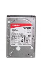 """HDD 2,5"""" 500GB 5400rpm SATA2 8MB Toshiba Slim Mobile L200 (HDWJ105UZSVA)"""