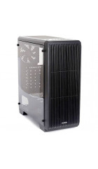 Корпус ZALMAN S2, ATX, mATX, Mini-ITX, Midi-Tower, сталь, без блока питания, 3xUSB на лицевой панели, 189x451x412 мм, цвет: черный