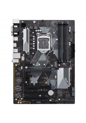 MB s1151 ASUS PRIME B360-PLUS, ATX, Intel B360, 4xDDR4, 1xPCI-E3.0x16/1xPCI-E3.0x4/2xPCI-E3.0x1/2xPCI, HDA Realtek ALC887, 6xSATA3/2xM.2, 2xUSB3.1Gen2/2xUSB3.1Gen1/4xUSB2, DVI-D/D-SUB/HDMI, 2xPS/2