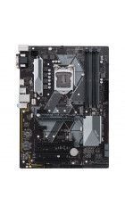 MB s1151-2 ASUS PRIME H370-PLUS, ATX, Intel H370, 4xDDR4, 1xPCI-E3.0x16/1xPCI-E3.0x16(x4)/2xPCI-E3.0x1/2xPCI, HDA Realtek ALC887, 6xSATA3/1xM.2/1xM.2(PCI-E3.0), 2xUSB3.1Gen2/2xUSB3.1Gen1/2xUSB2.0, RTL8111H GLAN, DVI-D/D-SUB/HDMI, 1xPS/2