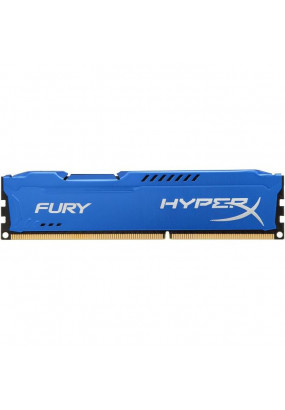 RAM DDR3-1866 4GB PC3-14900 Kingston HyperX Fury Blue, CL10 (10-10-10), 1.5V, retail (HX318C10F/4)