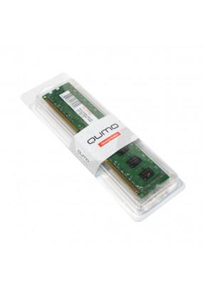 RAM 4GB DDR3-1600 PC3-12800 Qumo, CL11, LV 1.35V, Dual rank, retail (QUM3U-4G1600K11L)
