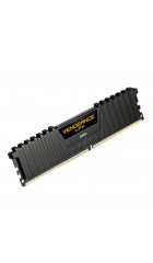 RAM 16GB DDR4-2400 PC4-19200 Corsair Vengeance LPX Black, CL16 (16-16-16-39), 1.2V, XMP, Unbuffered, retail (CMK16GX4M1A2400C16)