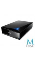 Привод Blu-Ray RE Asus BW-12D1S-U/BLK/G/AS черный USB внешний RTL