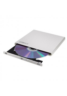 ODD ext DVD±RW LITE-ON eBAU108-21 White, USB2.0, M-Disc, 14 mm, Retail (eBAU108-21)