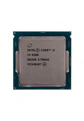 CPU s1151 Intel Core i3-6100 Tray (CM8066201927202) (3.70GHz, Skylake-S, 2C/4T, GPU: HD 530 (350-1050MHz), L2: 512KB, L3: 3MB, 14nm, 51W, DDR4-2133)